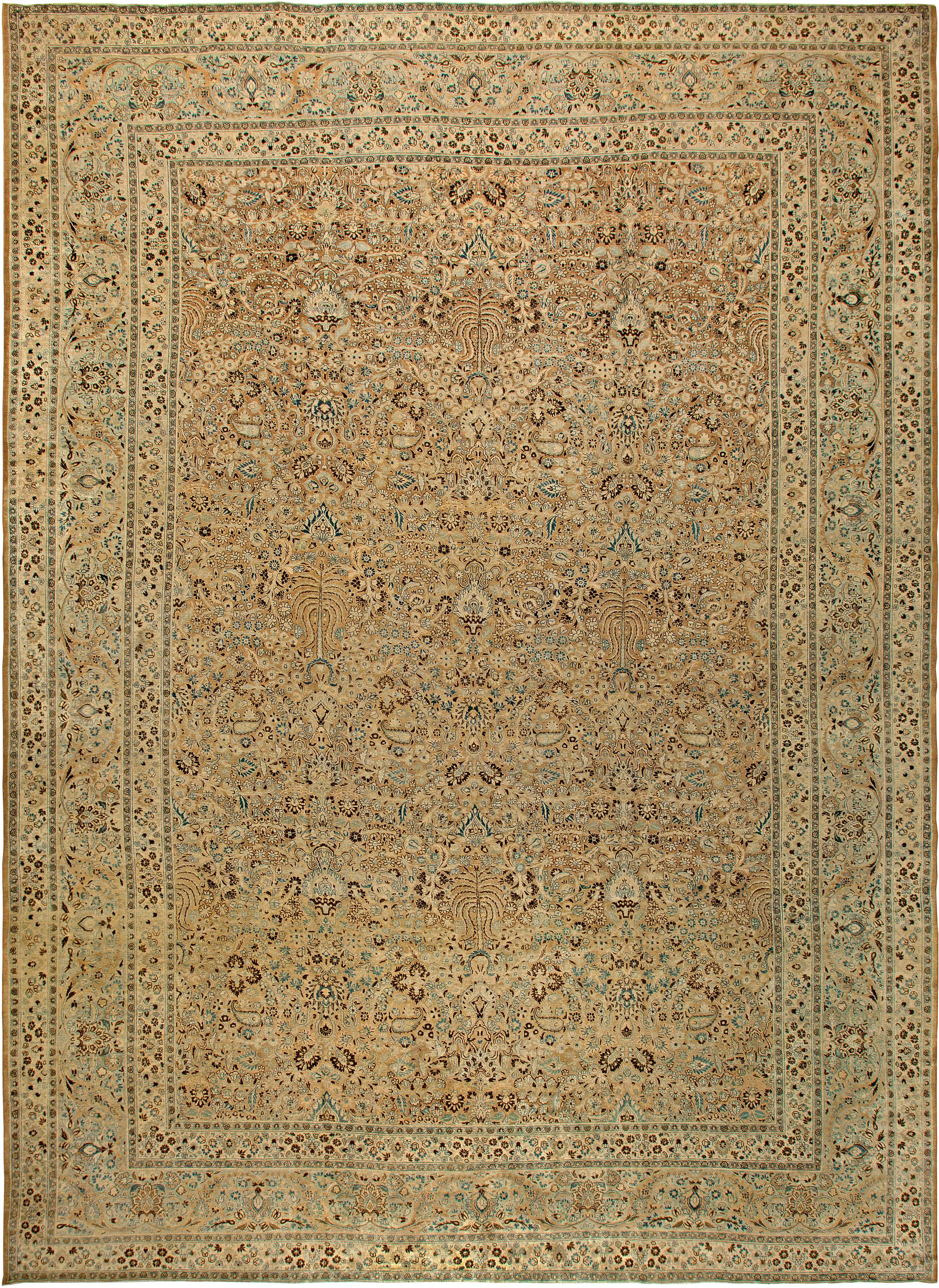 Oversized Antique Persian Khorassan Rug BB5814