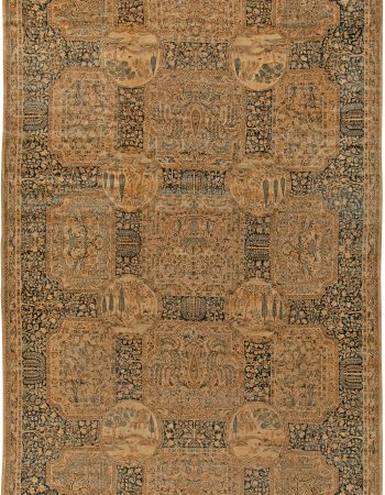 Antique Persian Kirman Rug BB5735