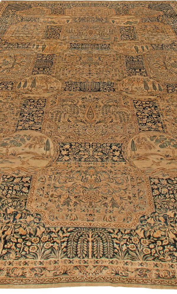 Antique Persian Kirman Rug BB5735
