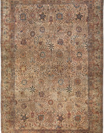 Antique Persian Kirman Rug BB0096