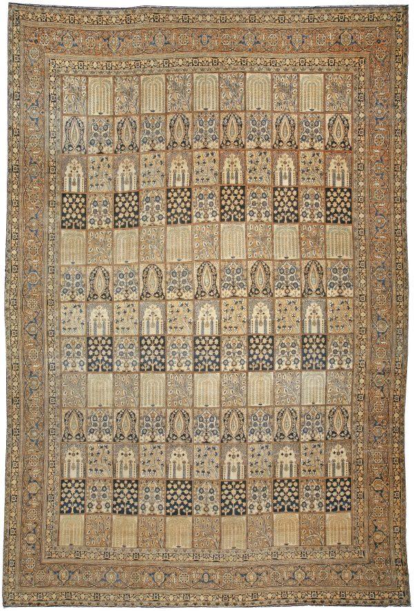 Antique Persian Kirman Rug BB3671