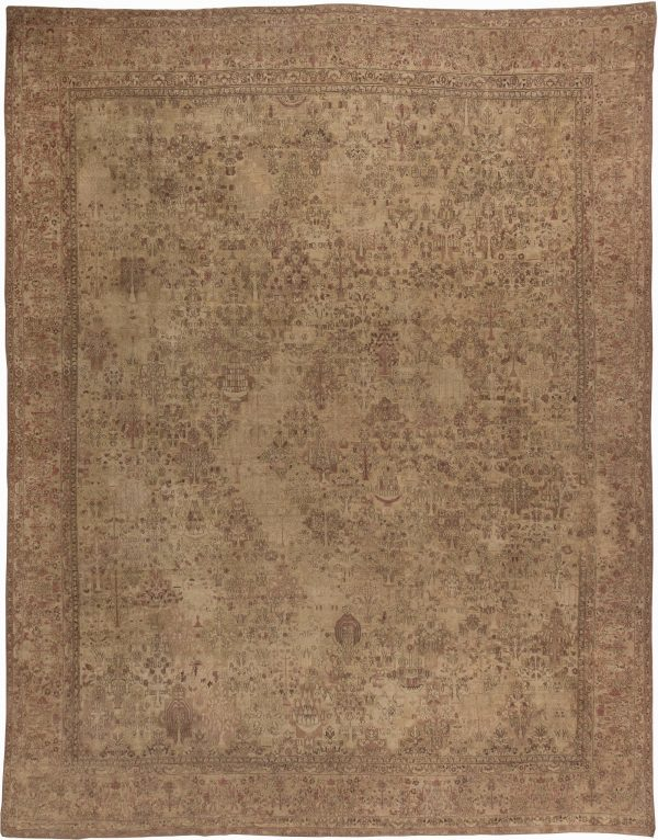 Antique Persian Kirman Carpet BB3999