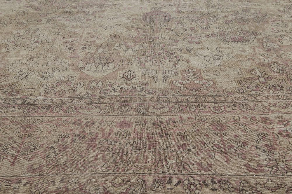 Antique Persian Kirman Carpet BB3999
