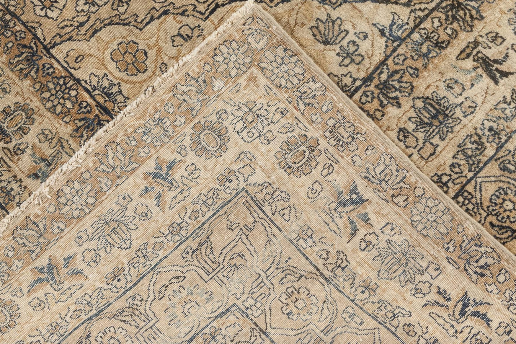 Antique Persian Kirman Carpet BB4076
