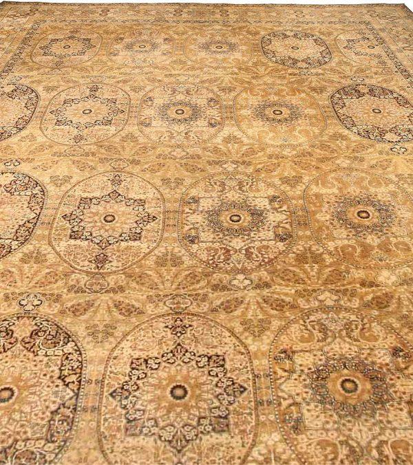 Oversized Antique Persian Kirman Carpet BB0940
