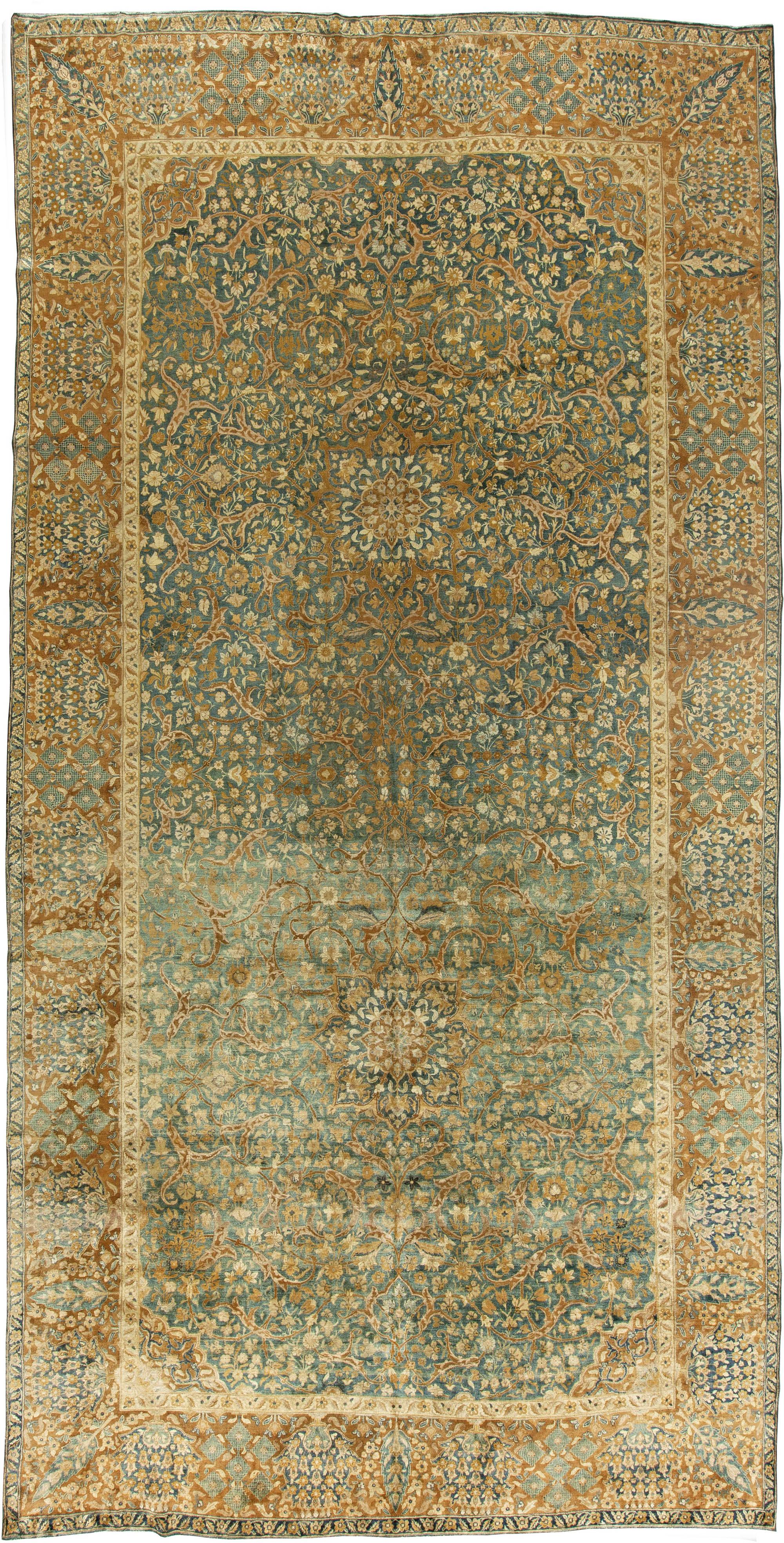 Antique Persian Kirman Rug BB5921