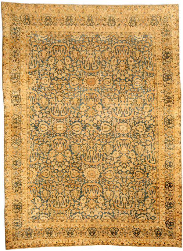 Antiguo persa Kirman Alfombra BB3763