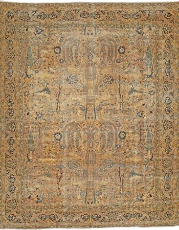 Antique Persian Kirman Rug BB3197