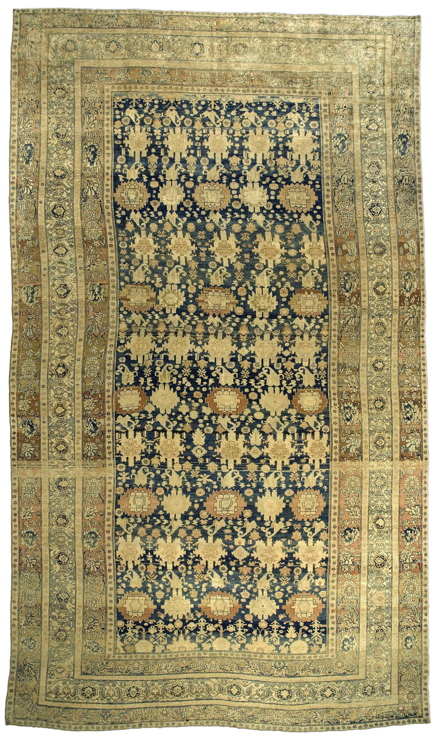 Vintage Persian Malayer Rug BB3330