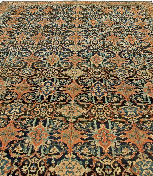 Antique Persian Malayer Rug BB5930