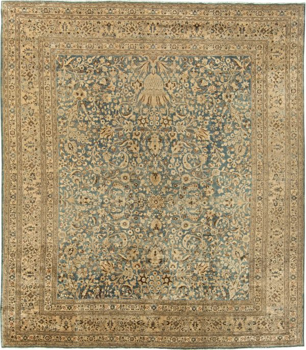 Vintage Persian Meshad Rug (size adjusted) BB5798