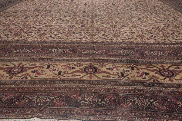 Oversized Vintage Persian Meshad Rug BB4652