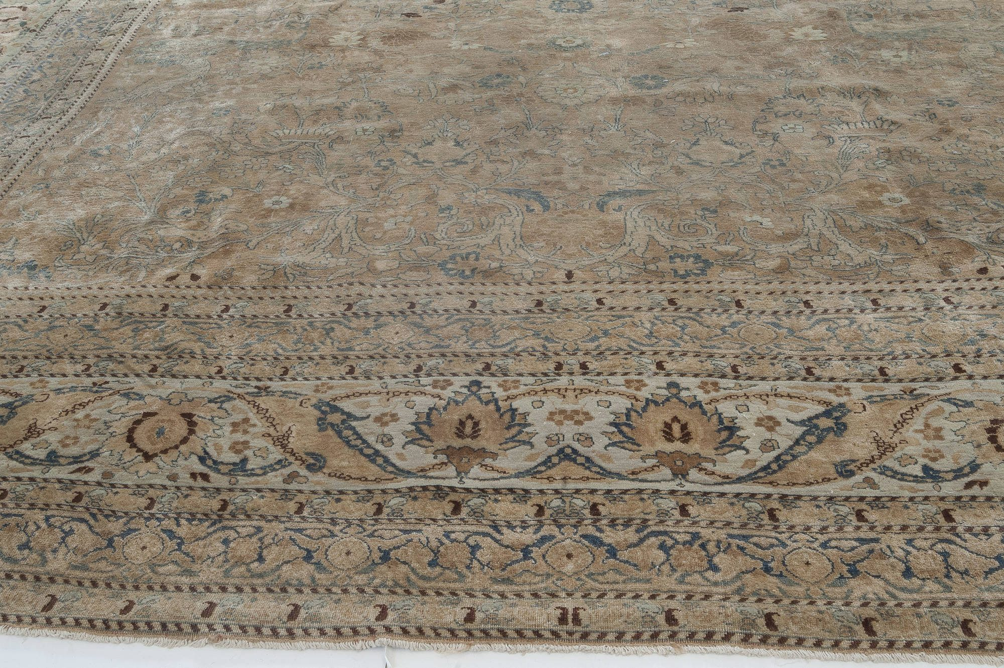 Antique Persian Meshad Carpet BB2724
