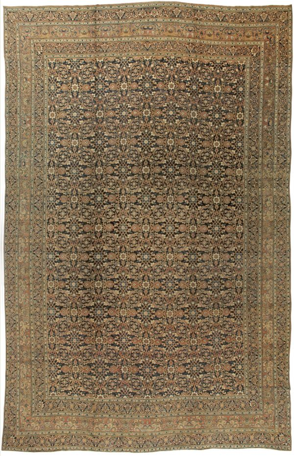 Oversized Antique Persian Meshad Rug BB5934