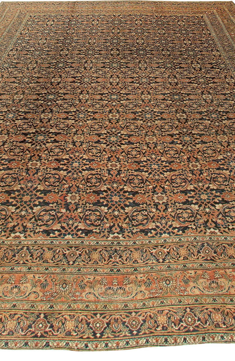 Oversized Antique Persian Meshad Rug BB5934