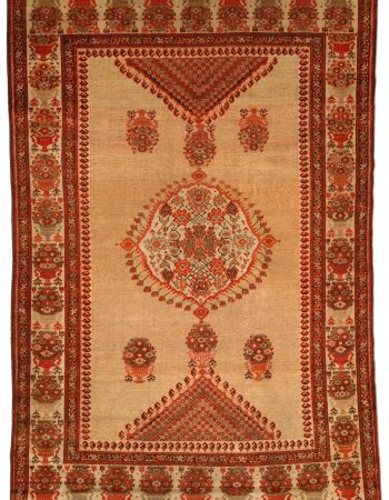 Antique Sarouk Rug BB4198