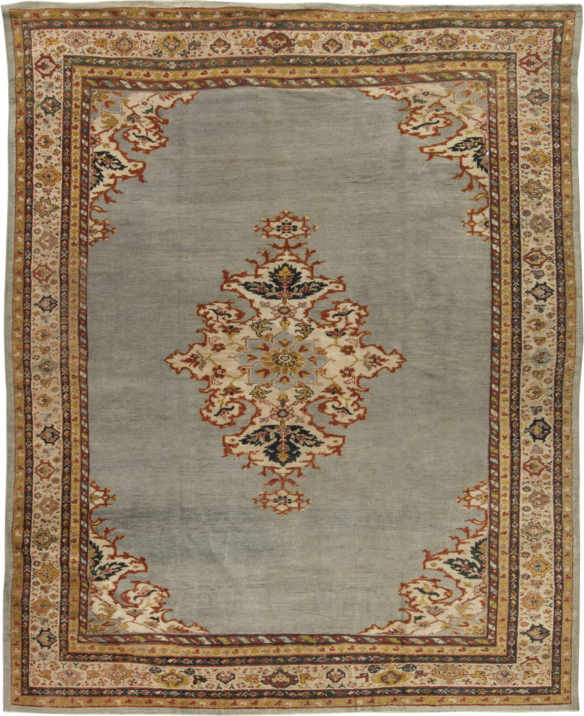 Antique Persian Sultanabad Rug Bb6484 By Dlb