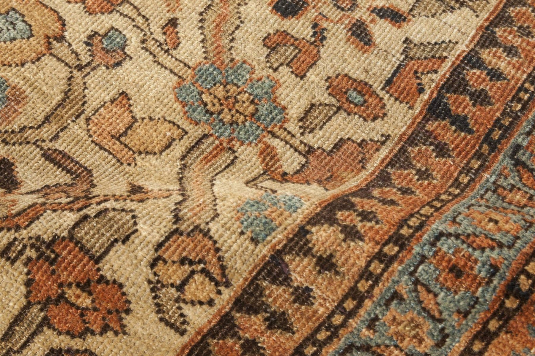Oversized Antique Persian Sultanabad Rug BB0472