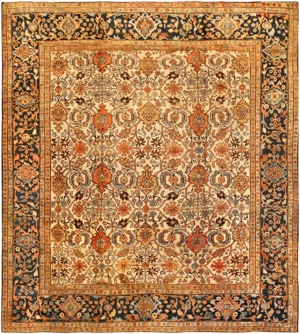 Antique Persian Sultanabad Teppich BB1353
