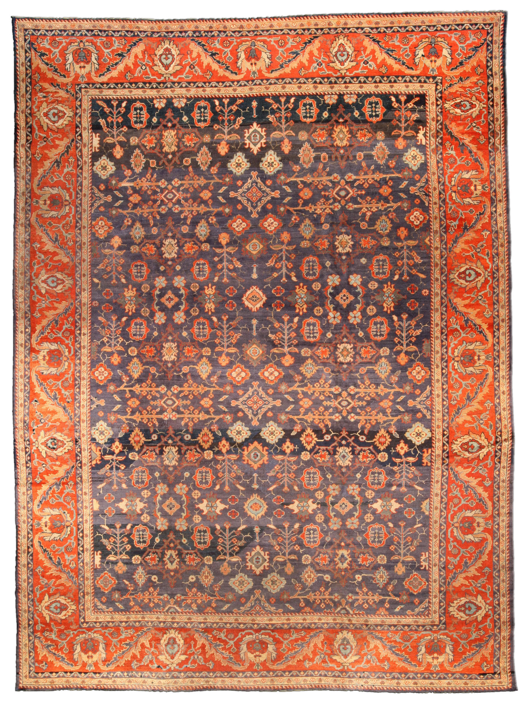 Vintage Persian Sultanabad Carpet BB1742