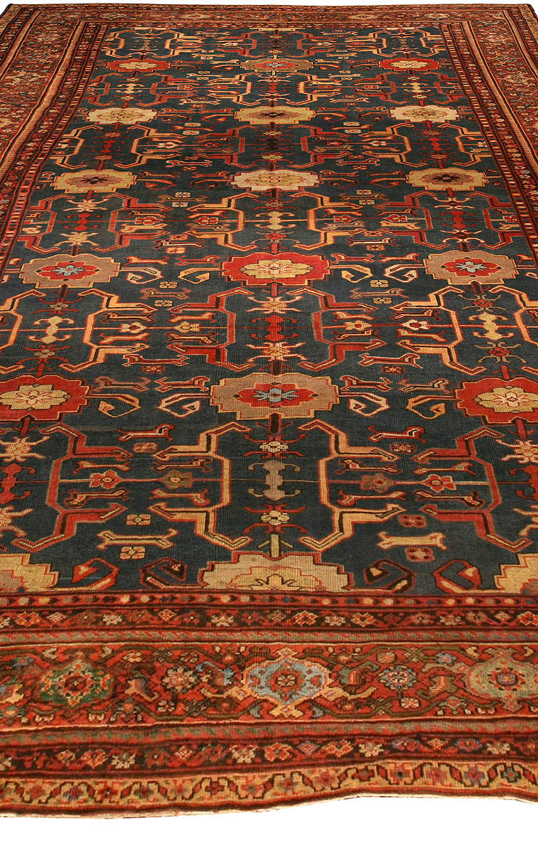 Antique Persian Sultanabad Rug Bb4331 By Dlb