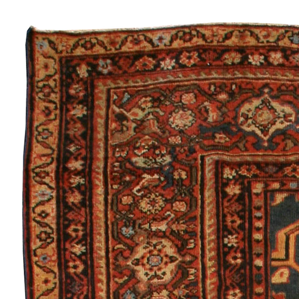 Blue Antique Persian Sultanabad Rug BB4331