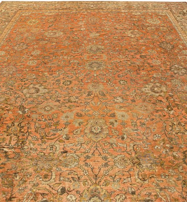Antique Persian Sultanabad Rug (size adjusted) BB5794
