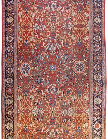 Antique Persian Sultanabad Rug BB0252