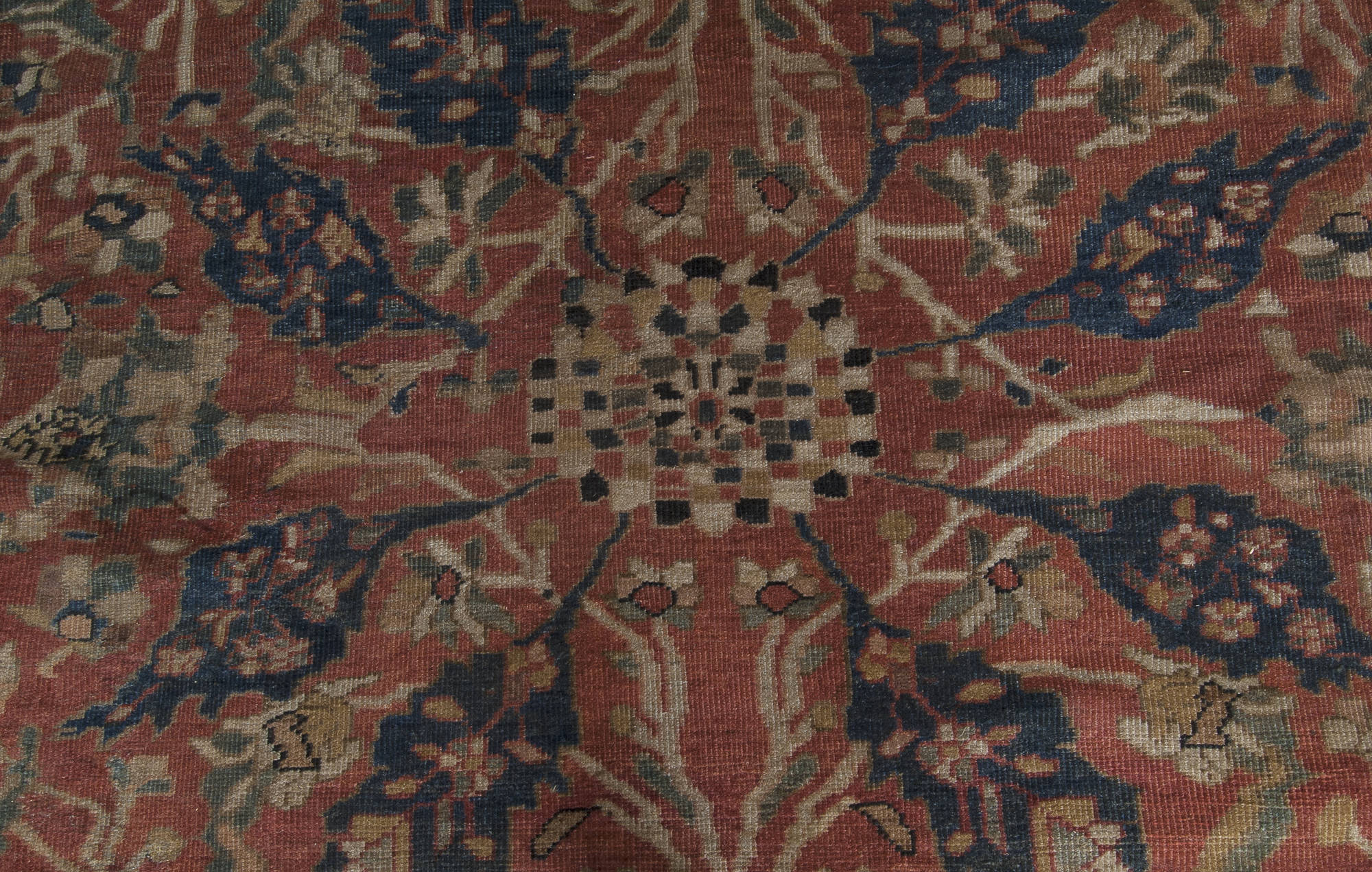 Antique Persian Sultanabad Rug Bb3555 By Dlb