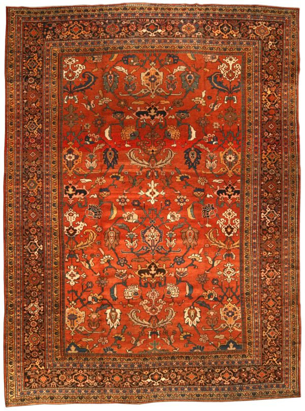 Vintage Persian Sultanabad Rug BB3198