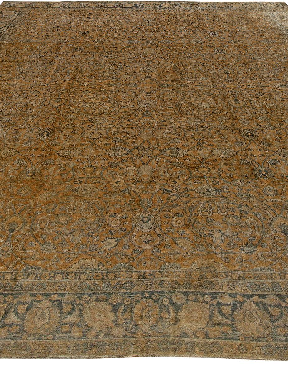 Antique Persian Tabriz Carpet Bb5647 By Doris Leslie Blau