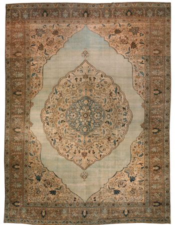 Antique persa Tabriz Tapete BB2521