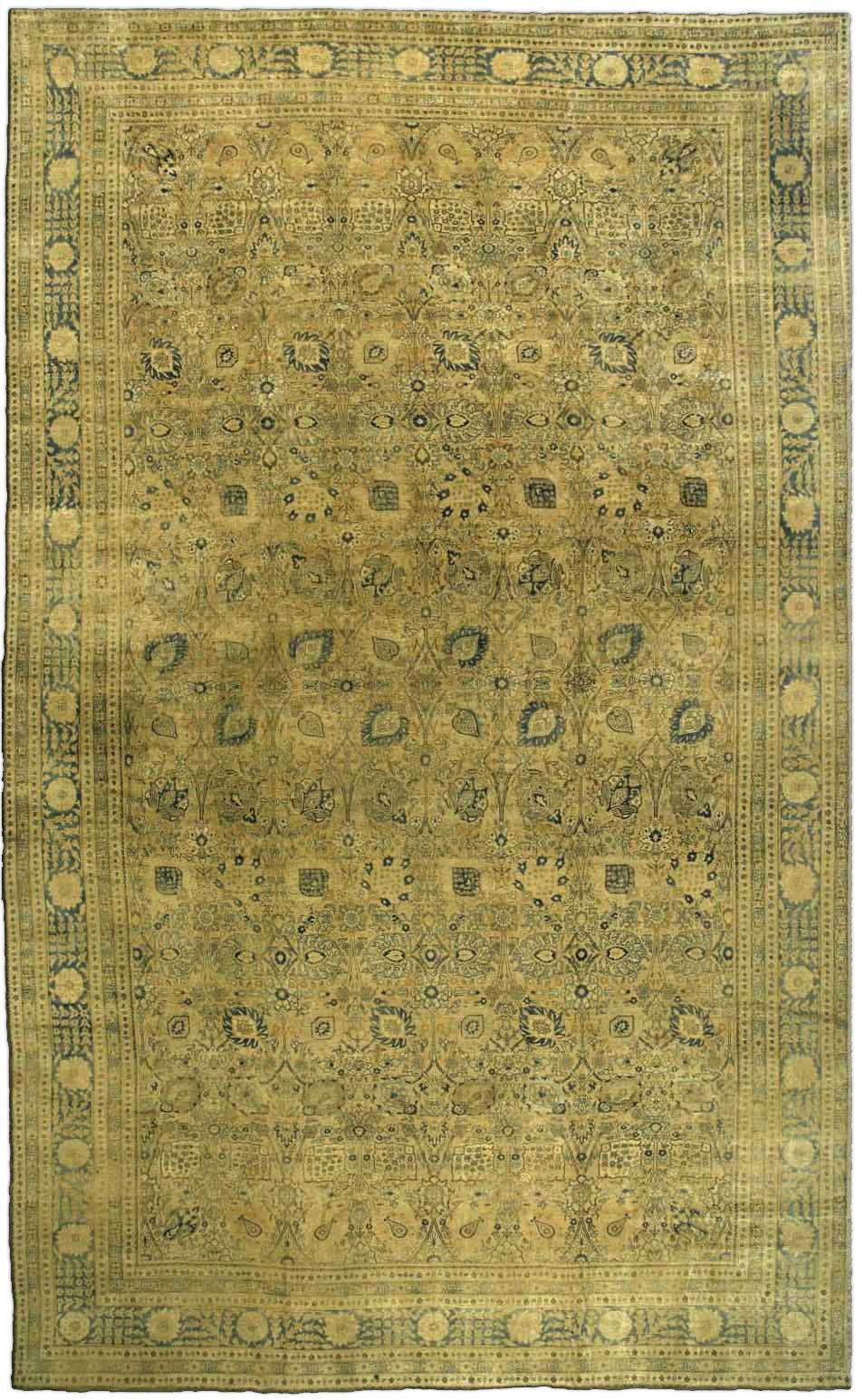 Persian Tabriz Rug BB3061