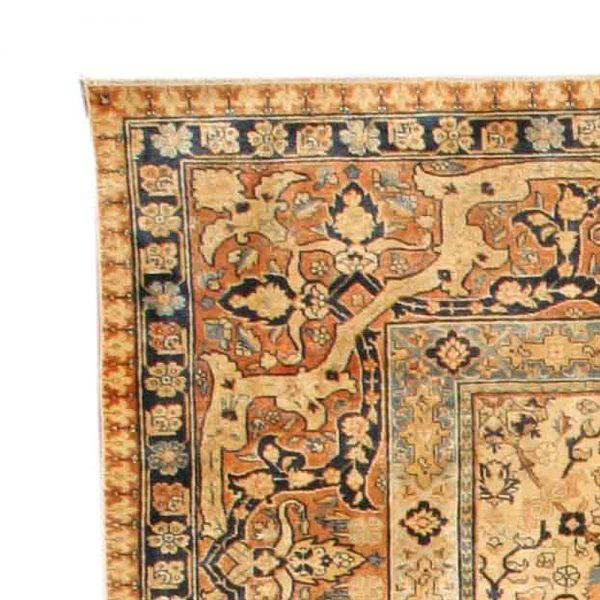 Antique Persian Tabriz Rug BB4156