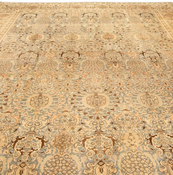 Vintage Persian Tabriz Carpet BB4214