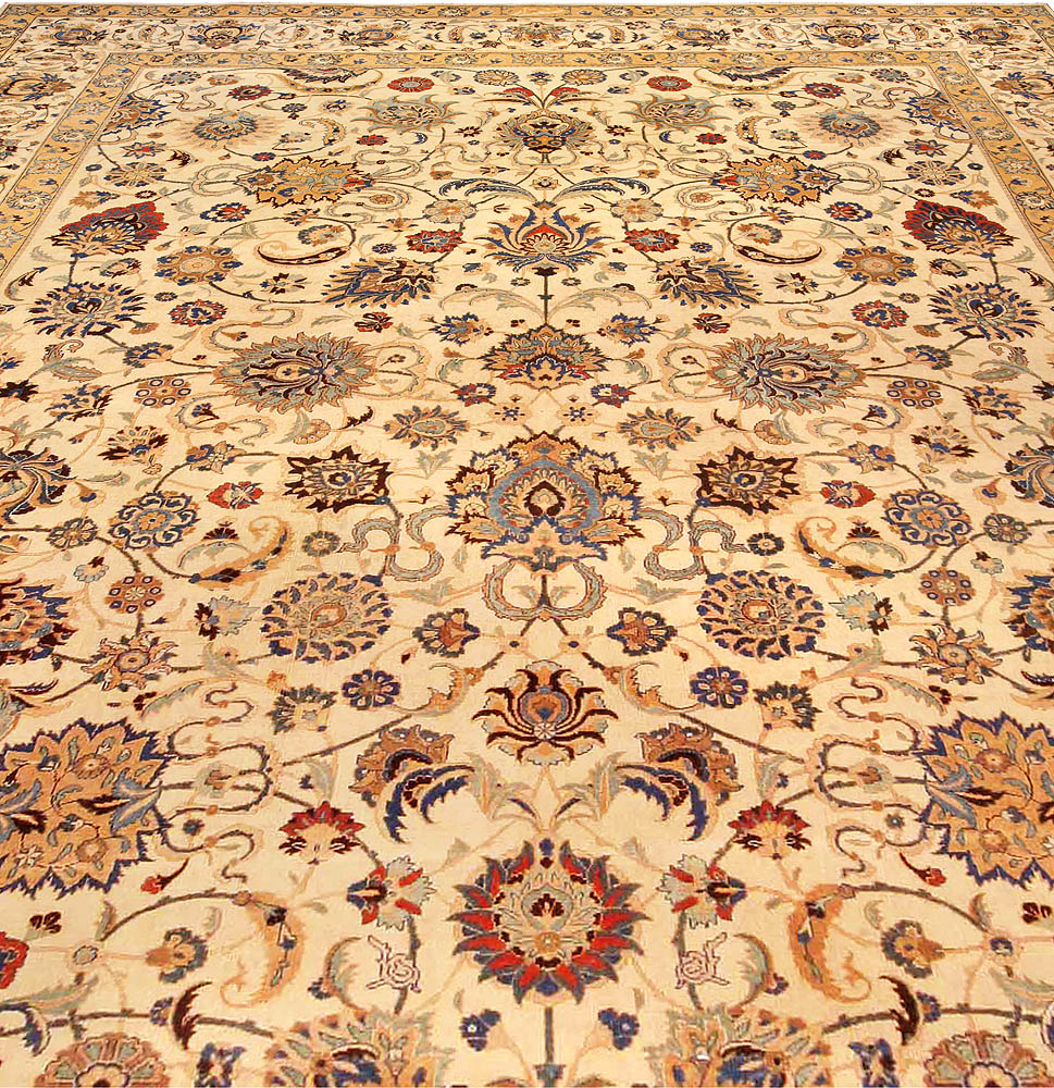 Antique Persian Kashan Carpet BB4295