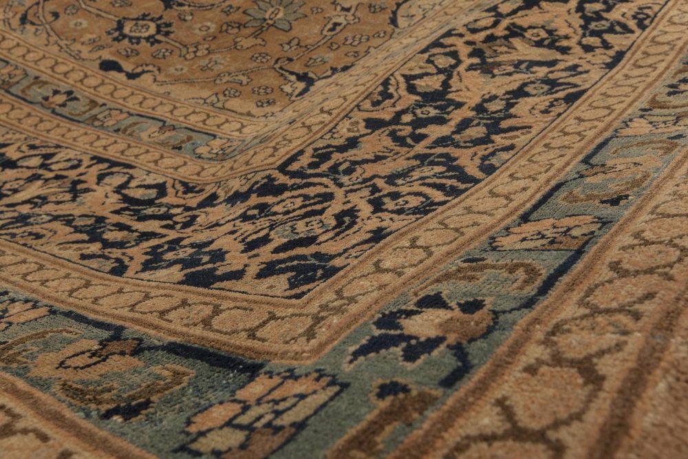 Antique Tabriz Camel Rug BB4671