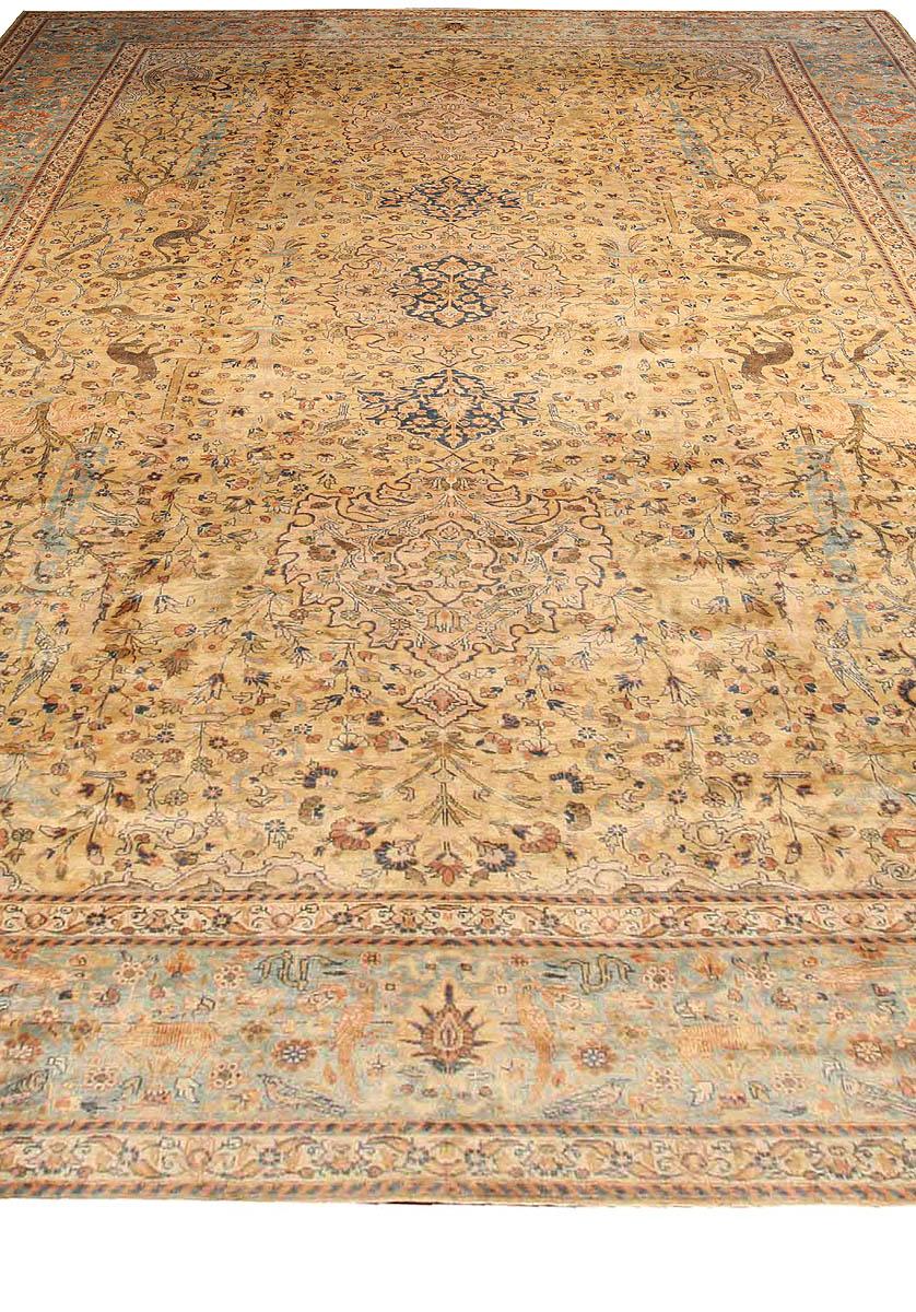 Antique Persian Tabriz Rug BB2575