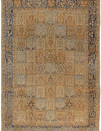 Antique persa Tabriz Tapete BB1625