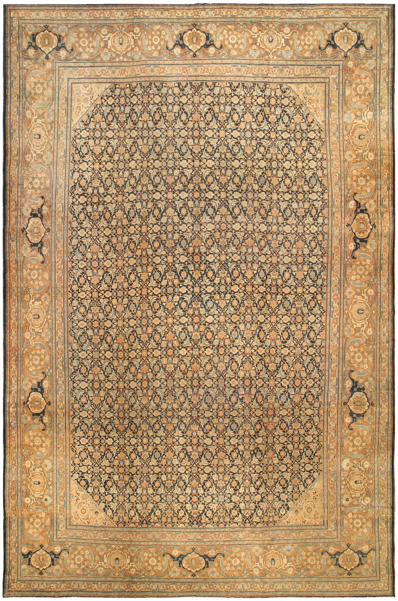 Vintage Persian Tabriz Carpet BB0276