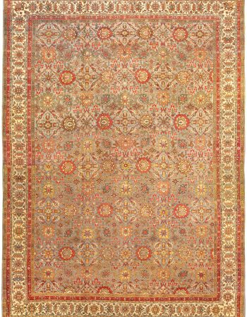 Antique Persian Tabriz Carpet BB0576