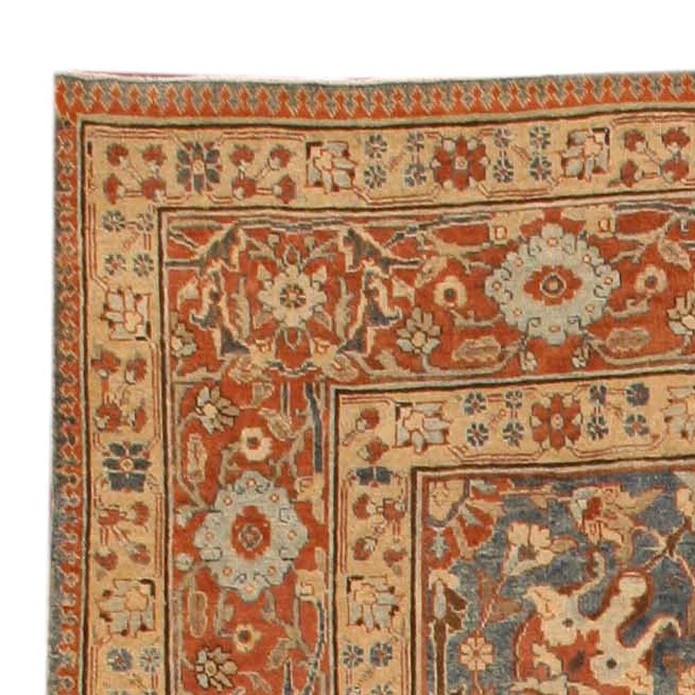 Vintage Persian Tabriz Rug BB4012