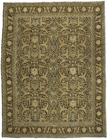 Antique persa Tabriz Tapete BB2597