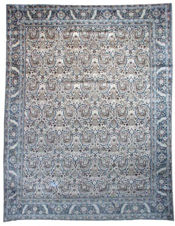 Antique persa Tabriz Tapete BB0658