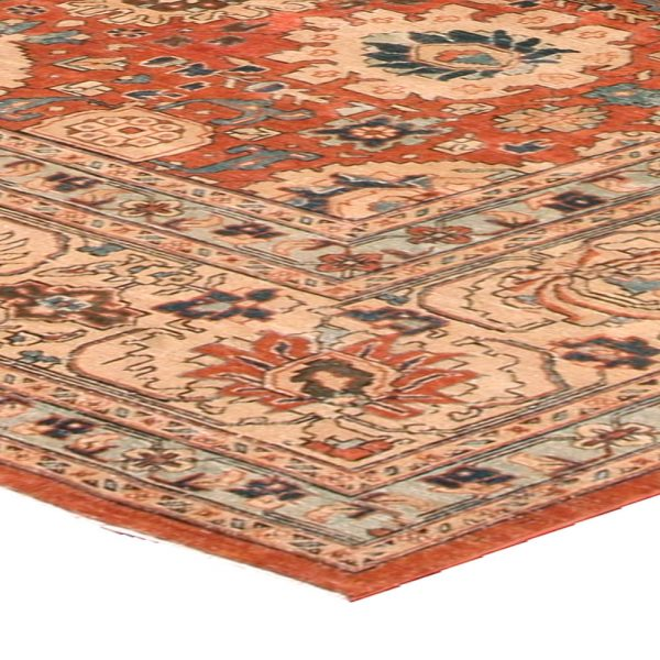 Antique Persian Tabriz Carpet BB3255