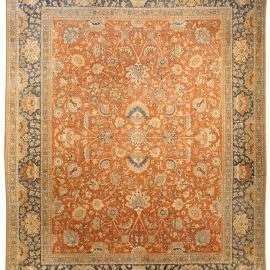 Antique Persian Tabriz Carpet BB4037