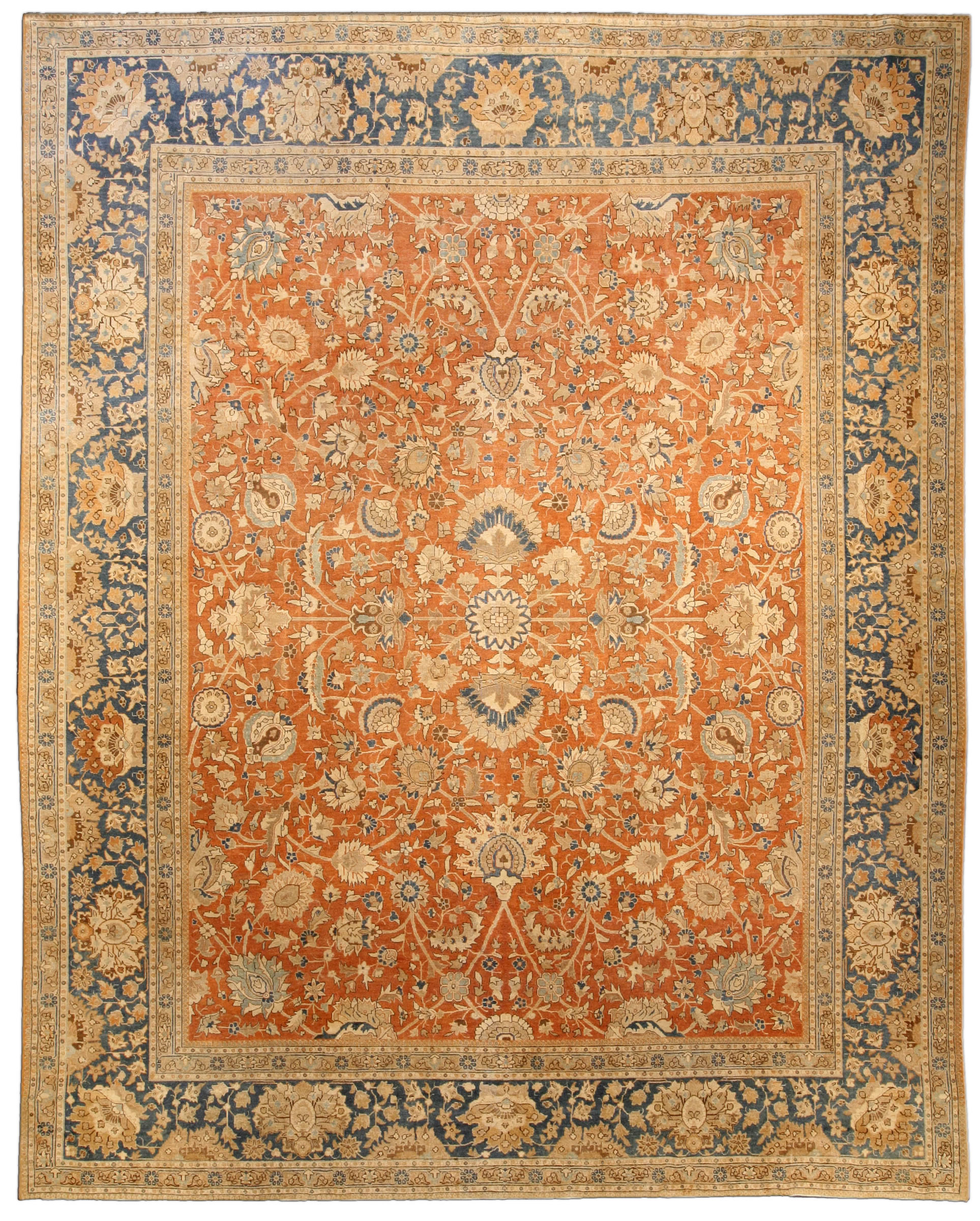 Antique Persian Tabriz Carpet BB4037 By Doris Leslie Blau