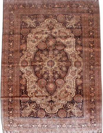 Antique Persian Tabriz Carpet BB6823