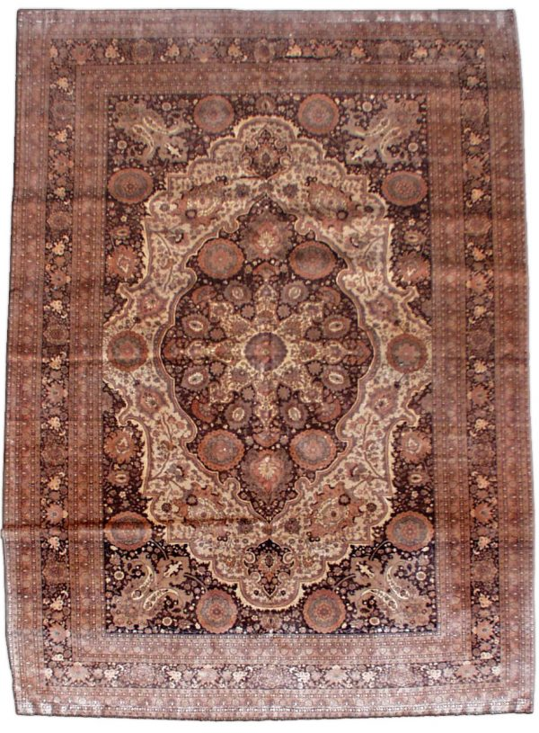 Antique Persian Tabriz Carpet BB0732