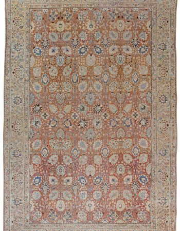 Antique persa Tabriz Tapete BB1544